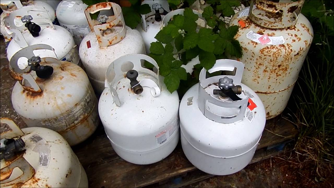 how to check a date on a propane tank (expiry date)