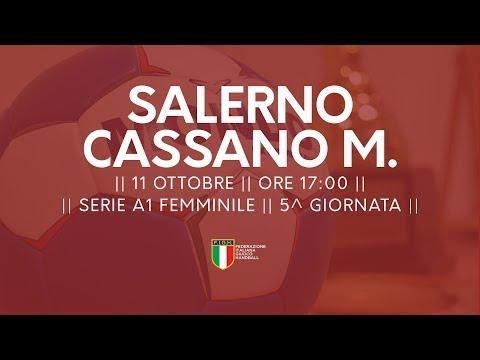Serie A1F [5^ giornata]: Salerno - Cassano Magnago 26-22
