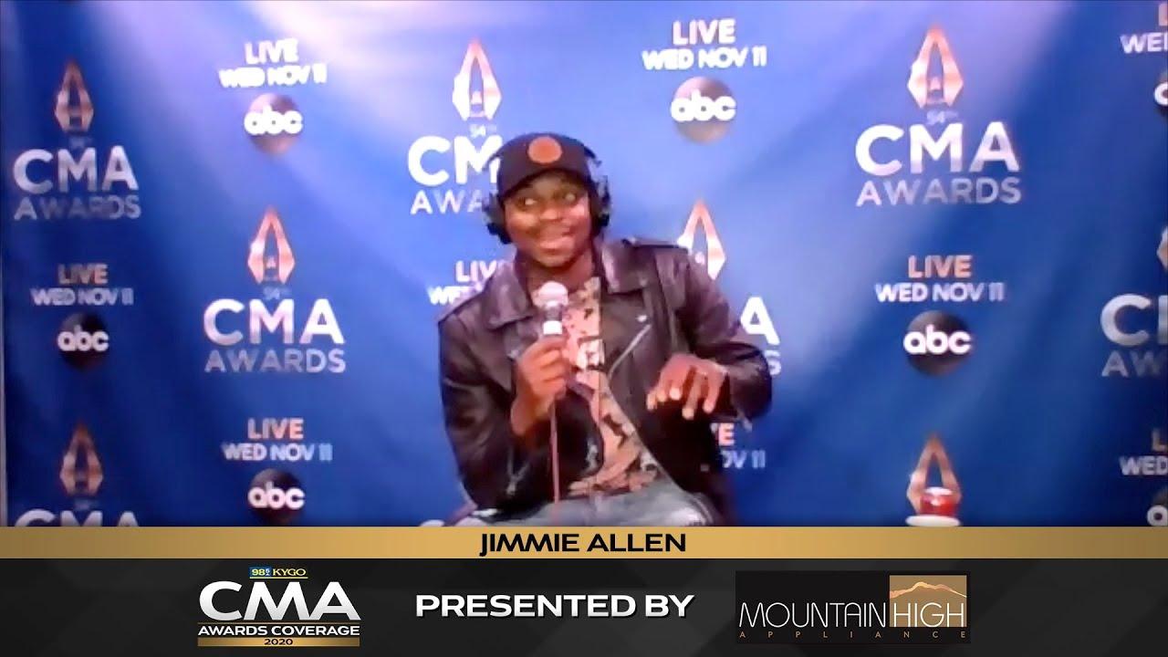Jimmie Allen Interview | 2020 CMA Awards