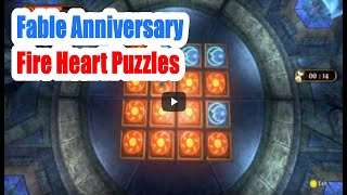 Fable Anniversary Fire Heart Puzzles With Directions Walkthrough
