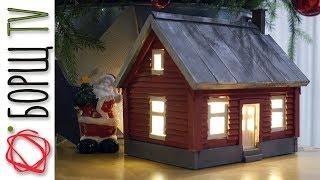 как сделать маленький дом из дерева своими руками