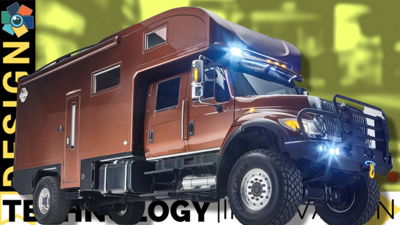 """VanDOit featured #1 in Mind's Eye Design """"10 Rugged Expedition Vehicles and Off-Road Camper Vans"""""""