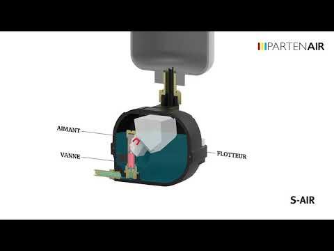 Video Purgeurs sans alimentation - S-AIR