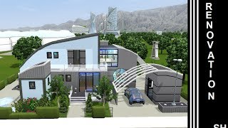 The Sims 3 - Into The Future - House Renovation - 1st