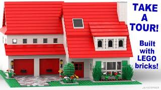 Custom Build - Three Bedroom 2 Bath Lego Home With Two Car Garage [cc]