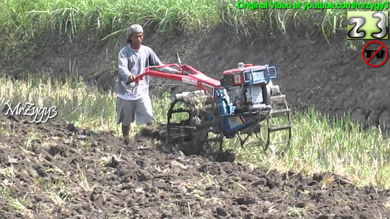 Yanmar Tractor 2 Wheel : New yanmar two wheel tractor first time plowing youtube