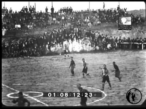Sporting - 4 x Carcavelinhos - 1 de 1926/1927 Taça Estremoz