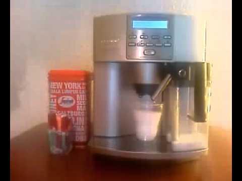 kaffeevollautomat delonghi eam 3500 s automatic cappuccino youtube. Black Bedroom Furniture Sets. Home Design Ideas