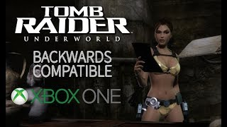 Tomb Raider: Underworld + DLC (Sample Gameplay on Xbox One)