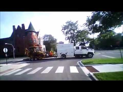 Bronzeville to Chatham via King Drive South Side Chicago HD