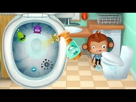 Fun and Learning Household Chores for Children | Dr Panda Home Kids Games by Dr. Panda