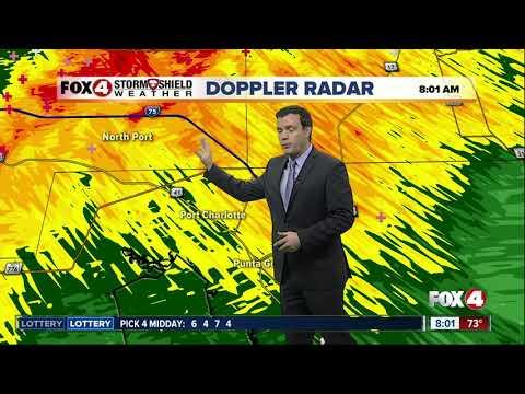 Southwest Florida under a tornado watch until 4pm Thursday