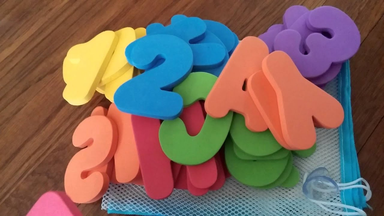 Bath Organizer With Letters And Numbers Review