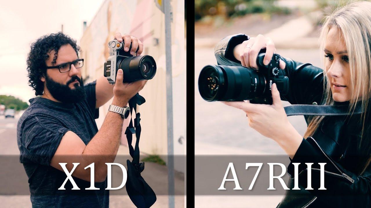 Sony A7RIII vs Hasselblad X1D   Best Mirrorless Camera Challenge