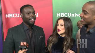 When quotShades of Bluequot star Dayo Okeniyi Thought JLo was flirting with Him