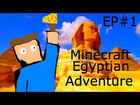Minecraft PS4 Egyptian Adventure | Custom Map | Part 1