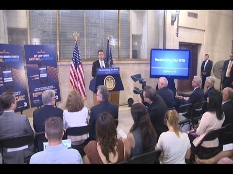 Governor Cuomo announced today the accelerated rollout of MTA eTix, a free MTA app that will allow Long Island Rail Road and Metro-North Railroad customers to purchase train tickets anytime, anywhere with their mobile devices.