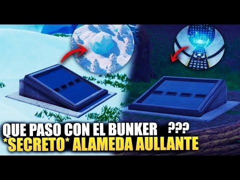 ¿QUE LE PASO AL BUNKER DE ALAMEDA AULLANTE? *TEMPORADA 8* SECRETOS [TEORÍAS] FORTNITE BATTLE ROYALE