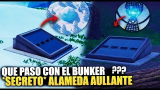 WHAT HAPPENED TO THE HOWLING ALAMEDA BUNKER? *SEASON 8* SECRETS [THEORIES] FORTNITE BATTLE ROYALE