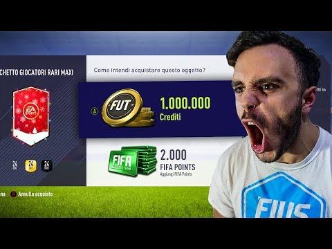 PAZZESCO!!! PACCHETTO DA 1 MILIONE! PACK OPENING FIFA 18 ITA