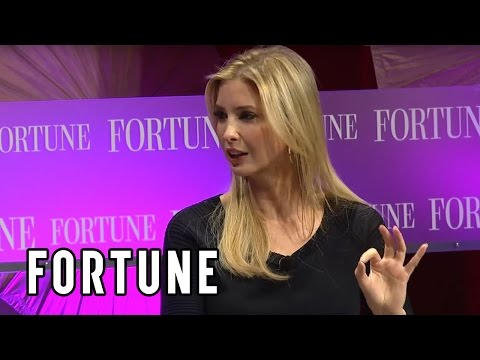 Ivanka Trump on female empowerment, her company and Donald