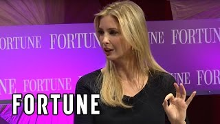 Video Ivanka Trump on female empowerment, her company and Donald's presidential run | Fortune download MP3, 3GP, MP4, WEBM, AVI, FLV November 2017