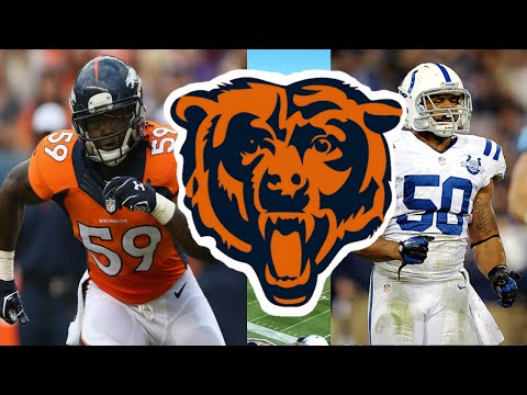 Chicago Bears New Faces 2016 [Free Agents]