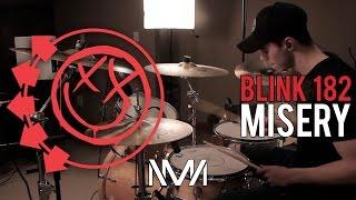 Misery - Blink 182 - Drum Cover