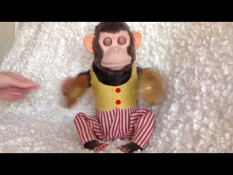 Musical Jolly Chimp Clapping Cymbals Vintage Toy