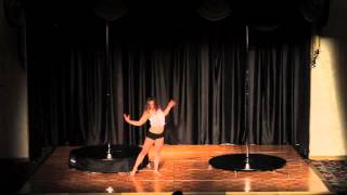 Windy City Pole Dance Competition 2013 Sasha Lebedeva