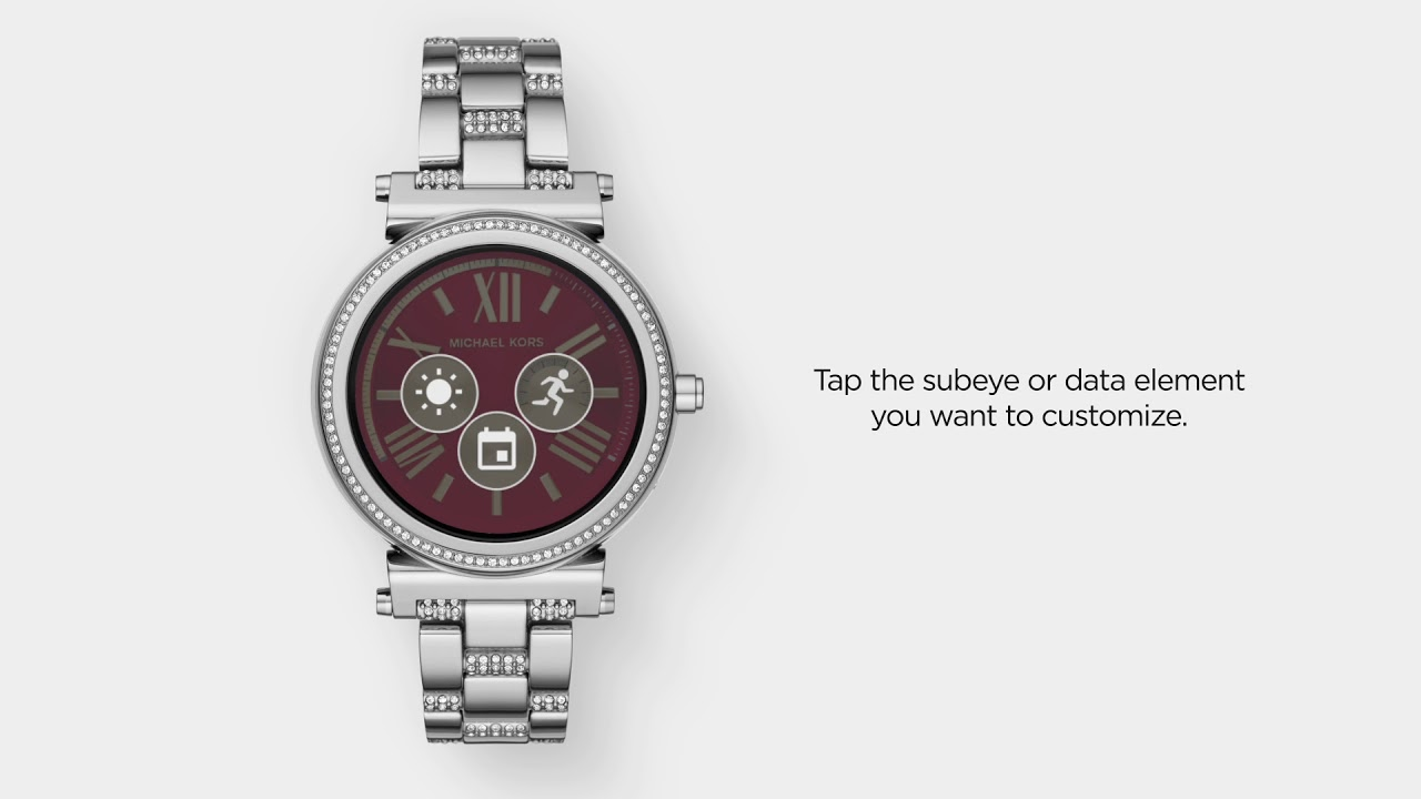 The michael kors access mens dylan smartwatch makes it simple to access the features of your watch with just a quick swipe of the screen. This allows for easy.
