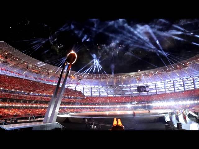 Baku 2015 European Games Opening Ceremony Fireworks