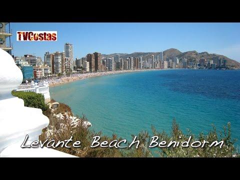 Benidorm Levante Beach Costa Blanca Spain (Tour)