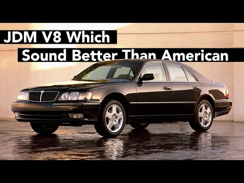 5 Japanese V8 Which Sound Better Than An Average US One