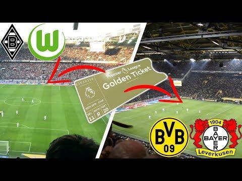I Went To TWO Bundesliga Games For The Price Of ONE BPL Game! (Dortmund Vs Leverkusen Vlog)