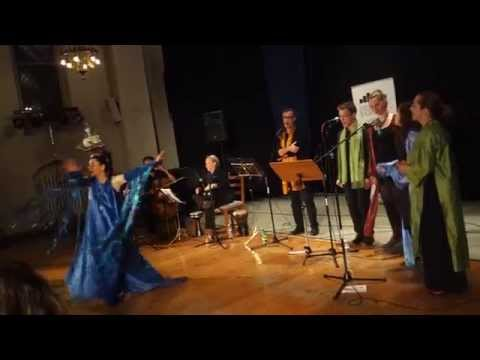 """""""Seas Of The World""""-with The Orient West Choir - Live at The Copenhagen World Music Festival -2015"""