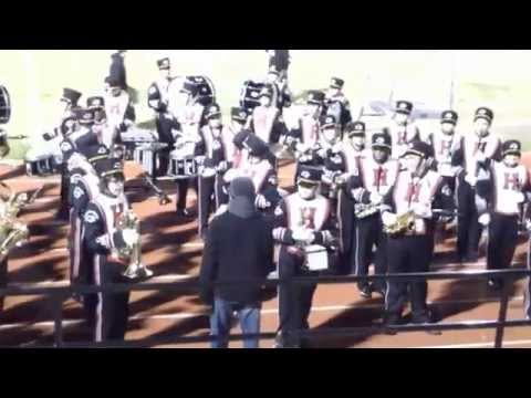 Go! Fight! Win! & HHS Fight Song ft. Color Guard, Dance & Cheer - Oct 31, 2014
