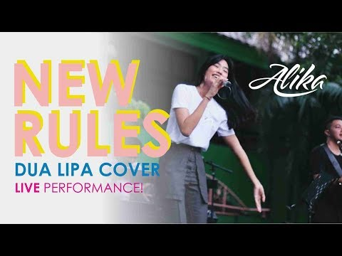 Dua Lipa - New Rules (Alika 's Cover - Live Performance)