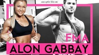 Im Gym mit Alon Gabbay | FMA | Sophia Thiel
