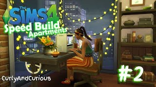 The Sims 4 - Penny Pizzazz Loft!! - Apartment Speed Build