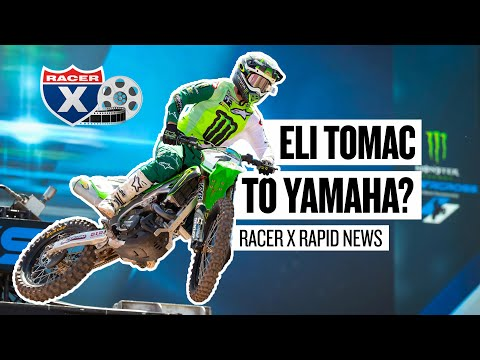 Eli Tomac Joining Yamaha in 2022? - Racer X Rapid News