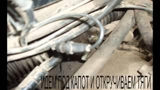 Audi 100 замена пыльника рулевой рейки
