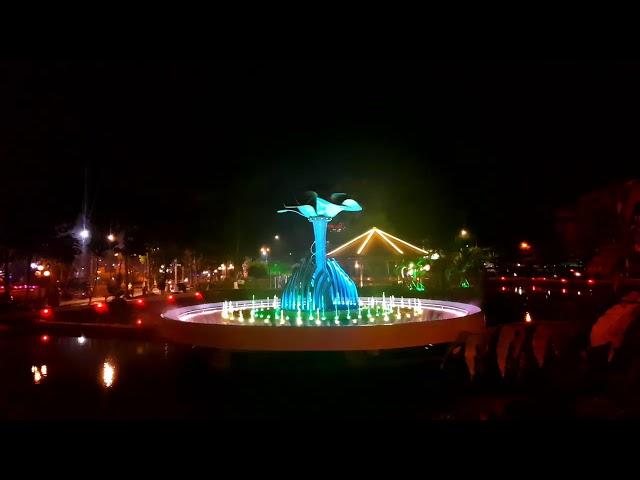 Nhạc nước công viên Bác Hồ - Tp. Sa Đép - Đồng Tháp -  VIET NAM TIEN LEN