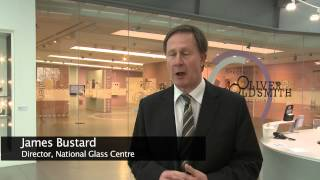 Duchess of Northumberland visits National Glass Centre