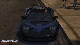 jugando midnight club auto de nightwing