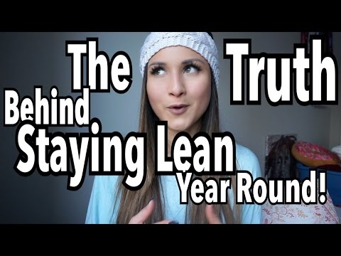 ABS YEAR ROUND?! | HOW TO MAINTAIN A LEAN PHYSIQUE!