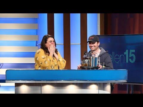 Ellen Show vs. Welcomes New Best Friend Lauren May