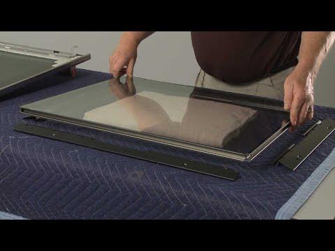 Inner Door Glass - Kitchenaid Electric Slide-In Range Model #KSEB900ESS2
