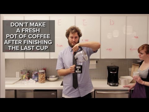 How to Piss Off Everyone in Your Office in 66 Seconds