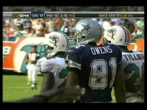 Jason Taylor Chasing Romo 2007